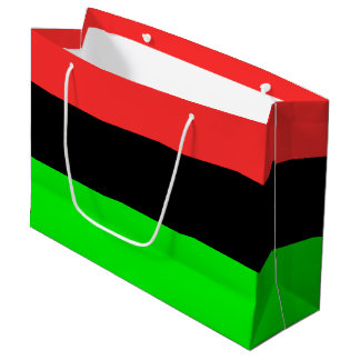 African American Flag Large Gift Bag