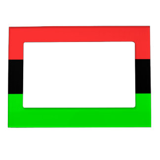 African American Flag Magnetic Frame