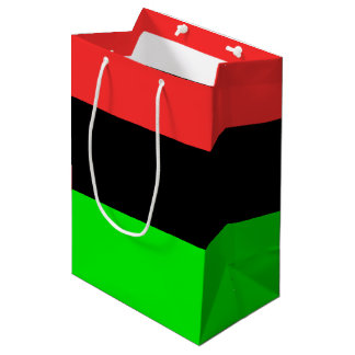 African American Flag Medium Gift Bag