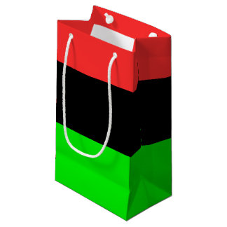 African American Flag Small Gift Bag