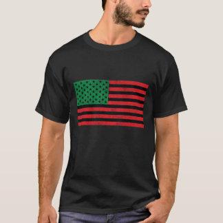 African American Flag Tee Shirt
