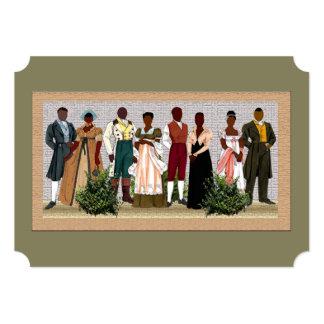 African American folk Art Card
