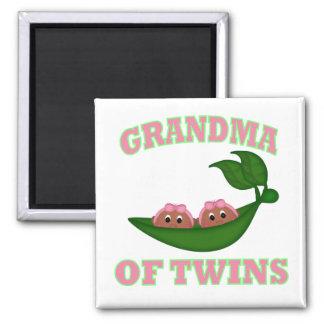 African American Grandma to Twins Magnet