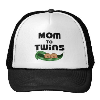 African American Mom to Twins Cap