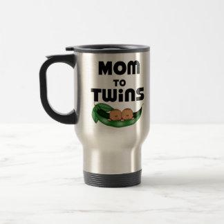 African American Mom to Twins Coffee Mug