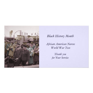 African American Nurses on Shipboard Photo Cards
