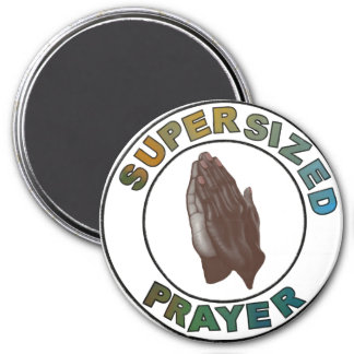 African American praying hands Magnet