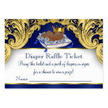 African American Prince Diaper Raffle Tickets Pack Of Chubby Business Cards