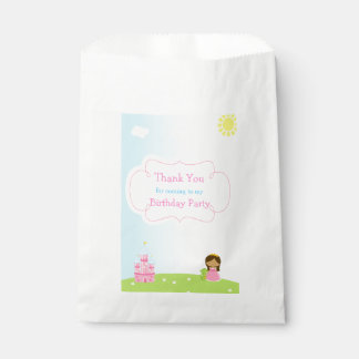 African American Princess Birthday Favour Bag