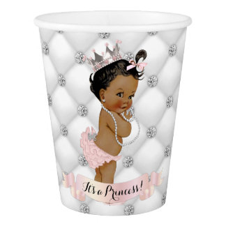 African American Princess Diamonds Blush Pink
