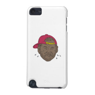 African-American Rapper Crying Drawing iPod Touch (5th Generation) Cases