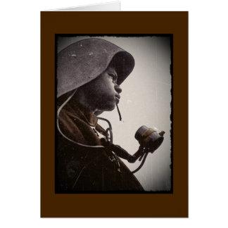 African American Rosie Riveter Card
