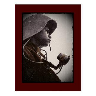 African American Rosie Riveter Postcard