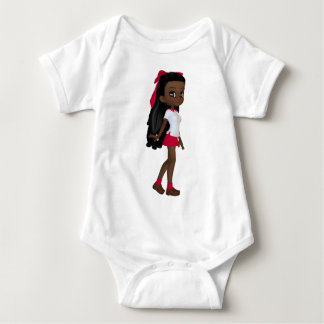 African American School Girl Tee Shirts