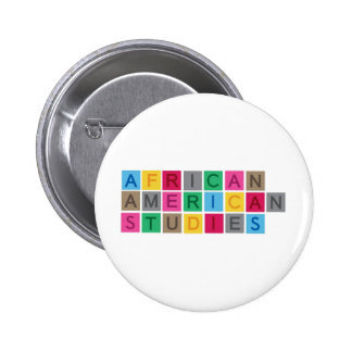 African American Studies Pinback Buttons