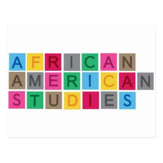African American Studies Postcard
