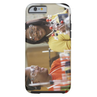 African American teenagers in science class Tough iPhone 6 Case