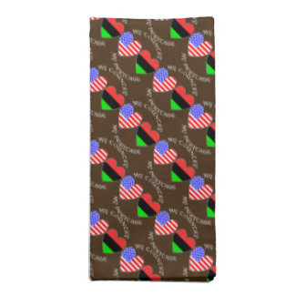 African American USA Country Heritage Napkin
