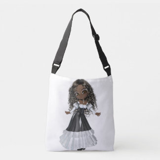 African American Woman Medium Bag