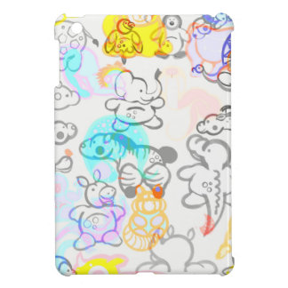 African and Asian Animals iPad Mini Covers