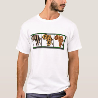 African Animal Collage2 T-Shirt