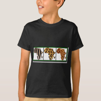 African Animal Collage2 Tshirt