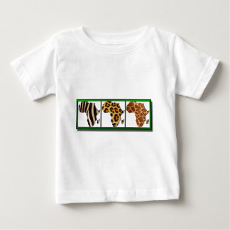 African Animal Collage2 Tshirts