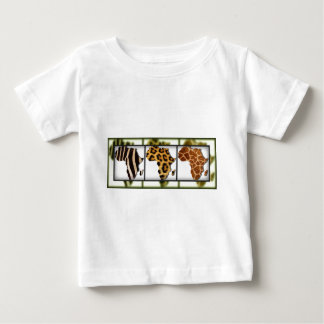 African Animal Collage Infant T-Shirt