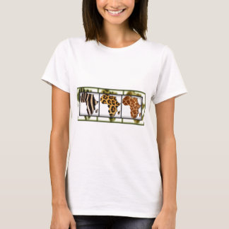 African Animal Collage T-Shirt