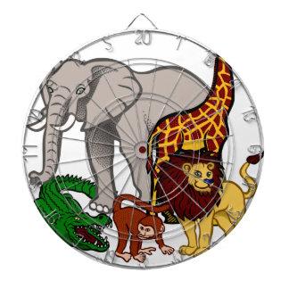 African Animals Dartboard