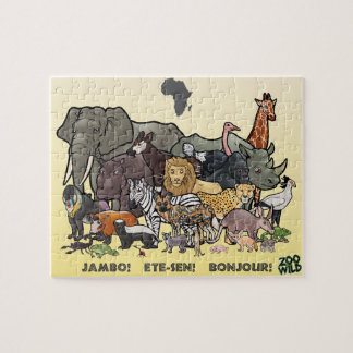 African Animals - Jigsaw Puzzle