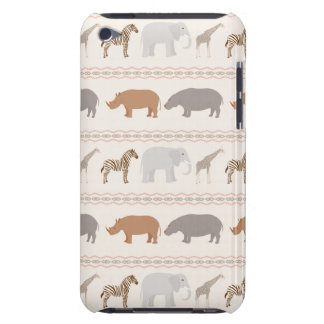 African animals pattern 1 iPod touch Case-Mate case