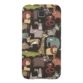 African Animals Pattern Galaxy S5 Cover