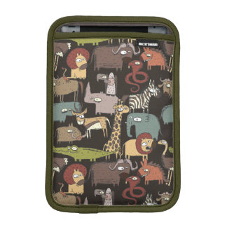 African Animals Pattern iPad Mini Sleeves