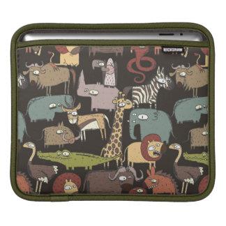 African Animals Pattern iPad Sleeves