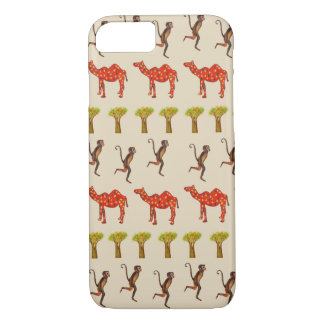 African Animals Pattern iPhone 8/7, Barely There iPhone 8/7 Case