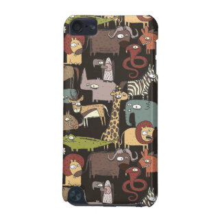 African Animals Pattern iPod Touch (5th Generation) Covers