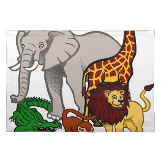 African Animals Placemat