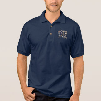 African Animals Polo Shirts