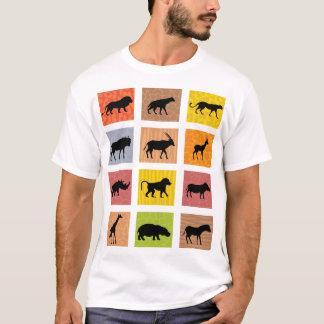 African Animals T-shirt