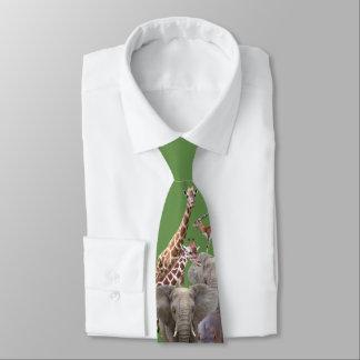 African Animals Tie