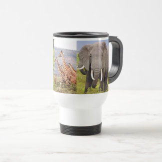 African Animals Travel Mug
