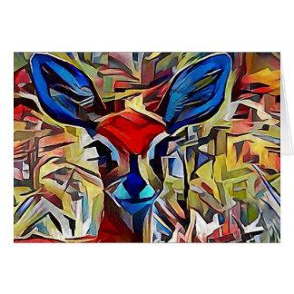 African antelope card