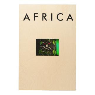 African Art Wall