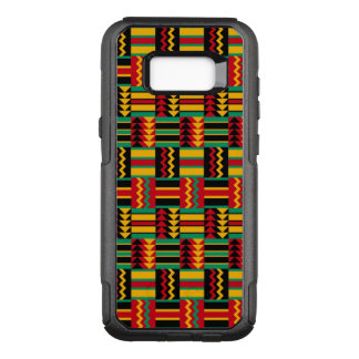 African Basket Weave Pride Red Yellow Green Black OtterBox Commuter Samsung Galaxy S8+ Case