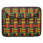 African Basket Weave Pride Red Yellow Green Black Sleeve For MacBook Pro