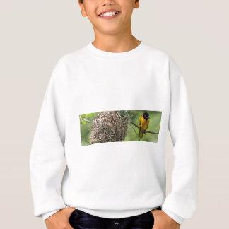 African Bird and Her Grass Nest Sweatshirt