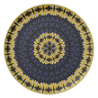 African Boho Collection - Midnight Blue Plate