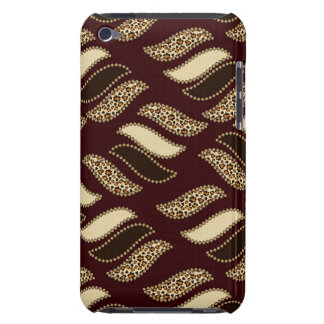 African cheetah skin pattern iPod touch cases