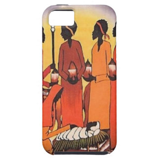 African Christmas Nativity Scene iPhone 5 Covers